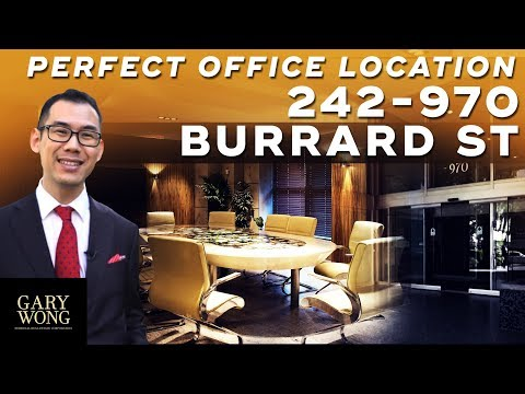 #242 970 Burrard St. Vancouver BC | Luxury Commercial Listing