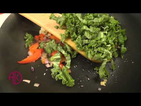 Kale omelet recipe ADC