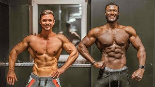 YouTuber vs. GNBF-Athlet Posing | 2 Weeks Out & Refeed  | Dodo's Physique #4