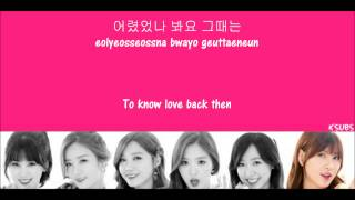 Apink ; 사랑동화 (Fairytale Love) [Hangul + Romanization + Translations] Picture Coded