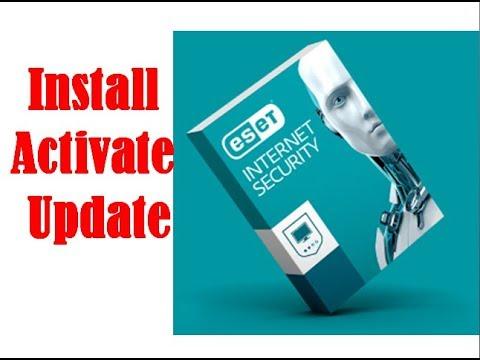 Install Eset Internet Security || Update Eset Antivirus || Activate Eset Antivirus -2019