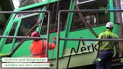 Umbau der MerkurBergbahn Teil 2