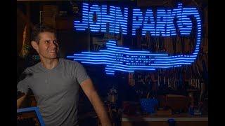 JOHN PARK'S WORKSHOP LIVE 8/23/18 HalloWing Light Paintstick @adafruit @johnedgarpark #adafruit