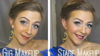 Belly Dance Gig Makeup vs Stage Make Up