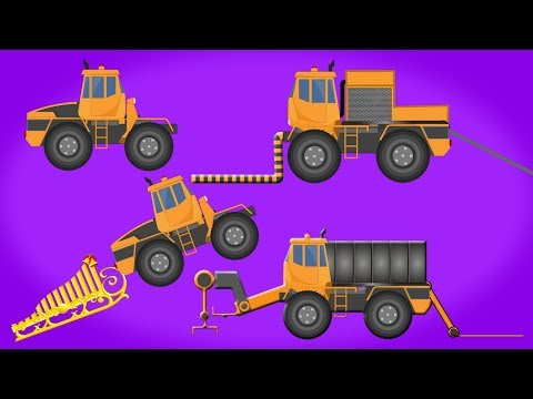 Kids TV Channel | Transformer | Ice Cube Maker Truck | Construction Truck | Relocation Truck | Video
