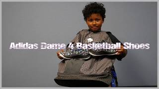 Best Basketball Shoes for kids? The Adidas Dame 4 Basketball Shoe Review
