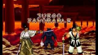 Samurai Shodown 2 JUBEI arcade run (parte 1)