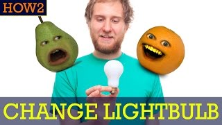 HOW2 - How to Change a Lightbulb (Quick and Easy!)