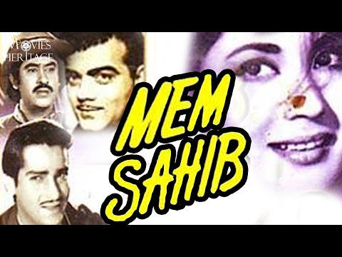 Mem Sahib 1956 Full Movie | Meena Kumari, Shammi Kapoor,Kish
