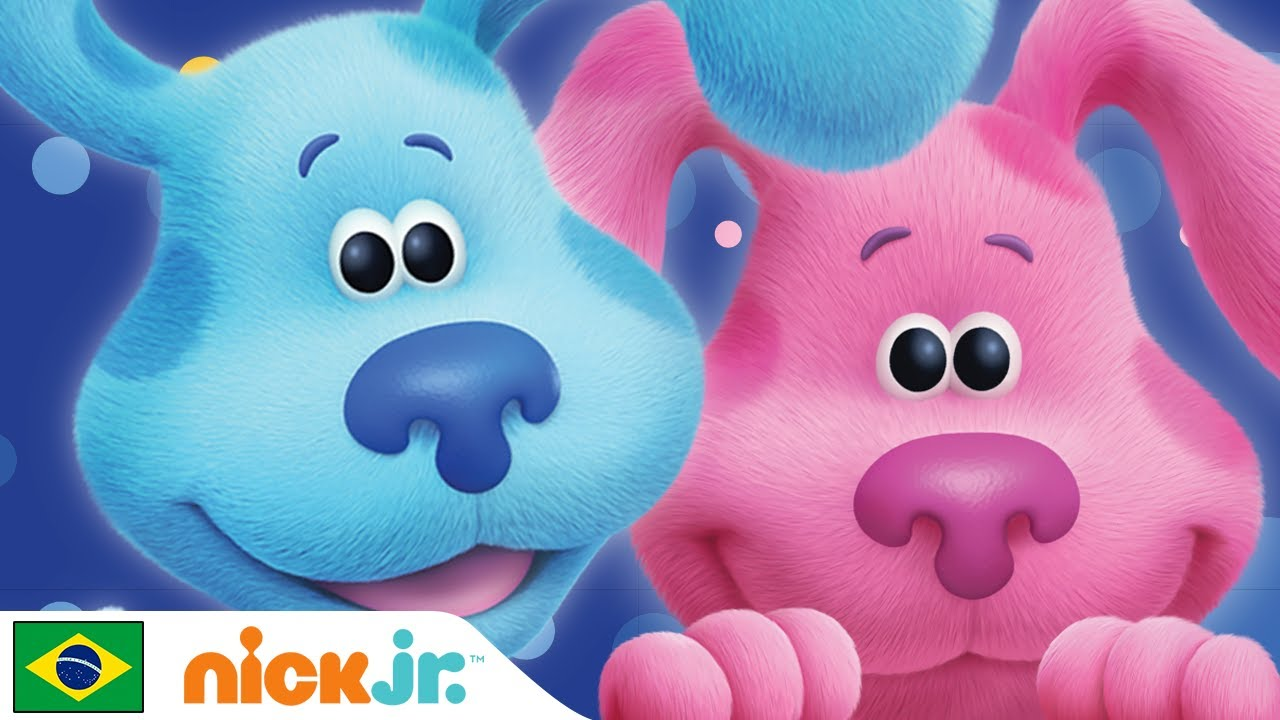 Pistas de Blue e Você | Blue está se divertindo com Magenta | Nick Jr. em Português