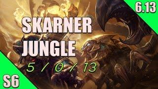 League of Legends Skarner Jungle Gameplay