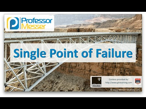 Descargar Video Single Point of Failure - CompTIA Network+ N10-006 - 3.1