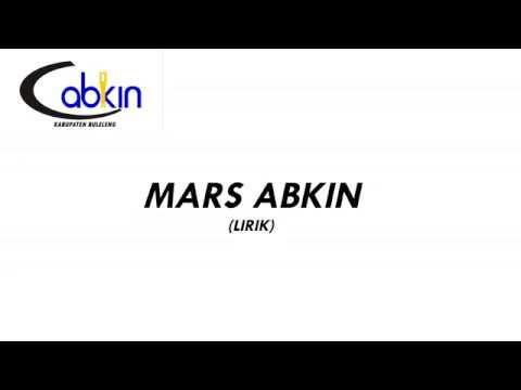 #ABKINBULELENG - LIRIK MARS ABKIN