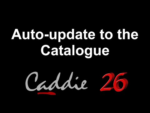 Auto-update to the Catalogue