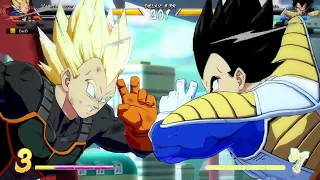 DBFZ Friendlies - MasonEliwood (Base Vegeta/Goku Blue/Black) vs. DarZr (Adult Gohan/Cell/Veg SS) #03