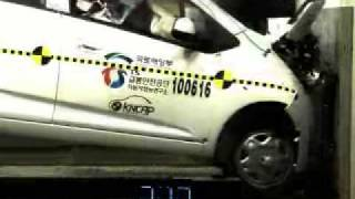[Crash Test] Chevrolet Spark 2013 (Prueba de Impacto Lateral)