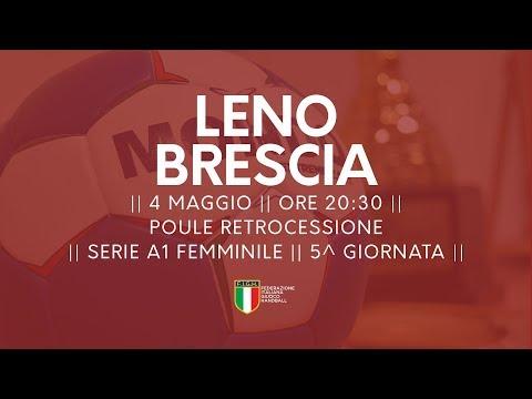 Serie A1F [5^ Poule Retrocessione]: Leno - Brescia 22-21