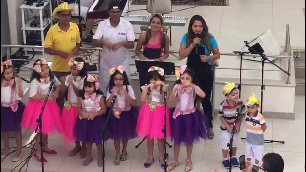 SAJ: Coral Infantil Da Igreja Batista Betânia Realizou