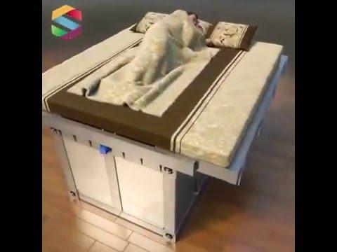 EARTHQUAKE LIFE SAVE BED