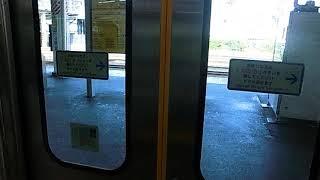 JR東日本EV-E301系「ACCUM」半自動ドア開閉
