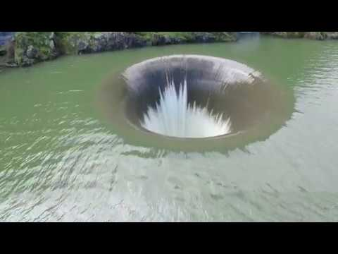 Monticello Dam Glory Hole 2 18 17 Pt 3