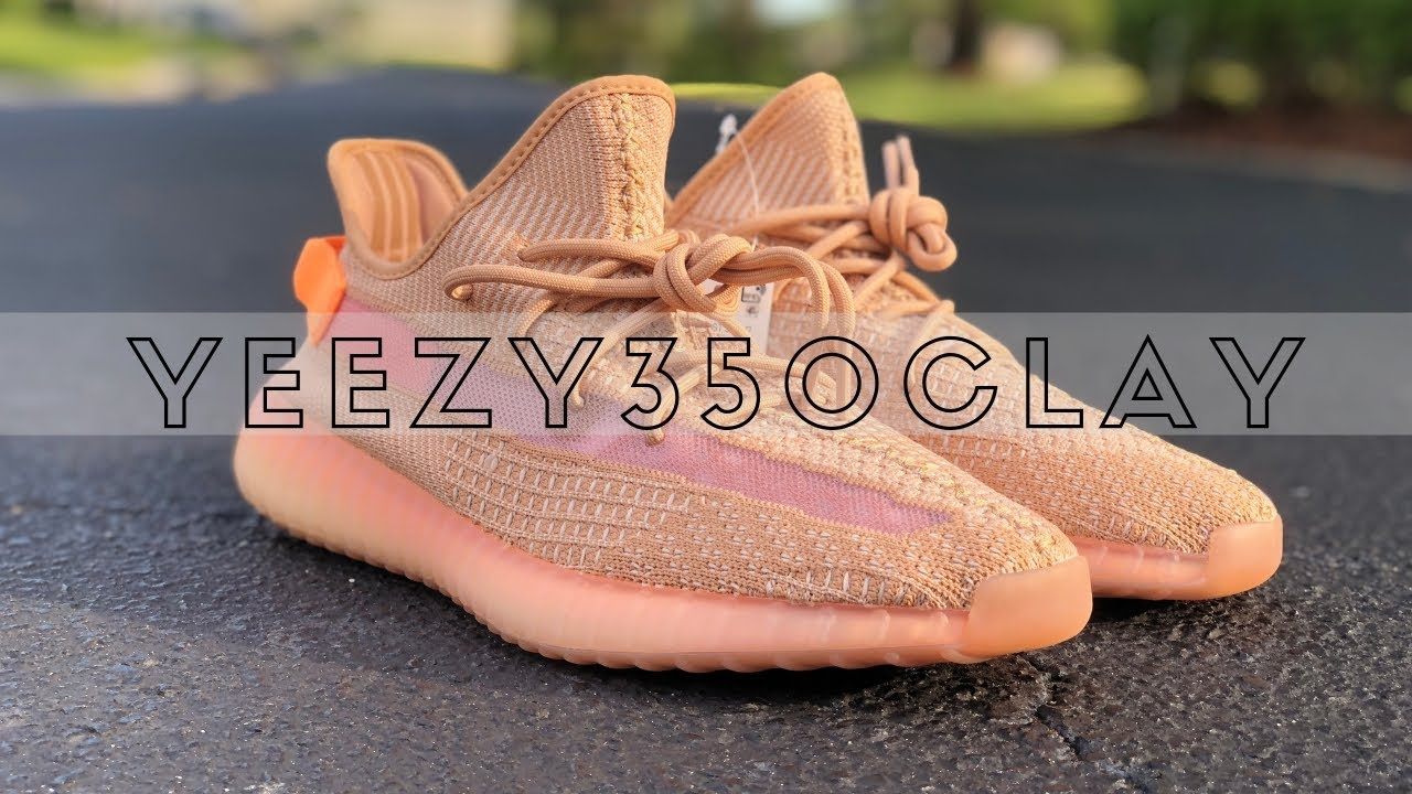 8d0f38f4 Adidas YEEZY Boost 350 V2 CLAY Review & On Feet - YouTube