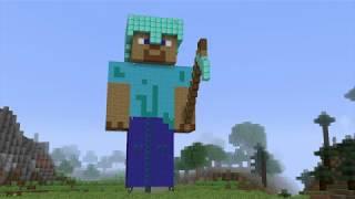 """Minecraft Steve"" - MINECRAFT PARODY OF Rasputin by Boney M"