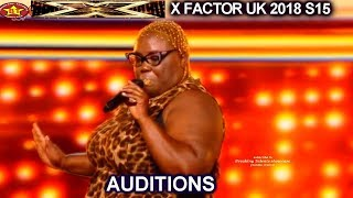 "Burgandy Williams from Atlanta sings ""Respect""  GETS STANDING OVATION 