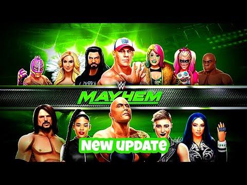 WWE MAYHEM MOD APK 2020 V 1.28.226 (unlimited Gold, Cash & Respect)