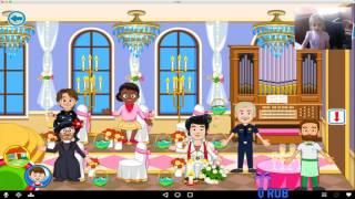ИГРА ДЕТСКАЯ СВАДЕБНЫЙ ДЕНЬ My Town :Wedding ❤ Game for Kids