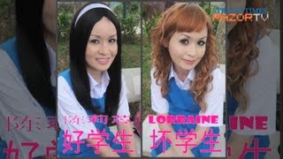 Kawaii in school uniform? (Local singer Lorraine Tan Pt 2)
