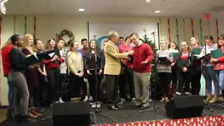 the roy c ketcham high school chamber choir kicks off q92 s annual holiday concert series