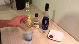 Faire Un Cocktail Alize Bleu - Recette Cocktail Curaçao Rhum