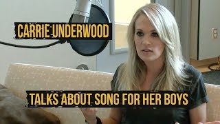 "Carrie Underwood Opens Up About ""What I Never Knew I Always Wanted"""