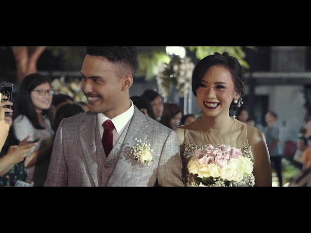 CLIP VIDEO OUTDOOR WEDDING JAKARTA I KEVIN & SHINTA