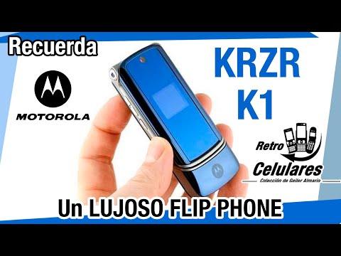Motorola KRZR K1 Colección Celulares Clásicos, antiguos o viejos old cell phones RETRO CELULARES