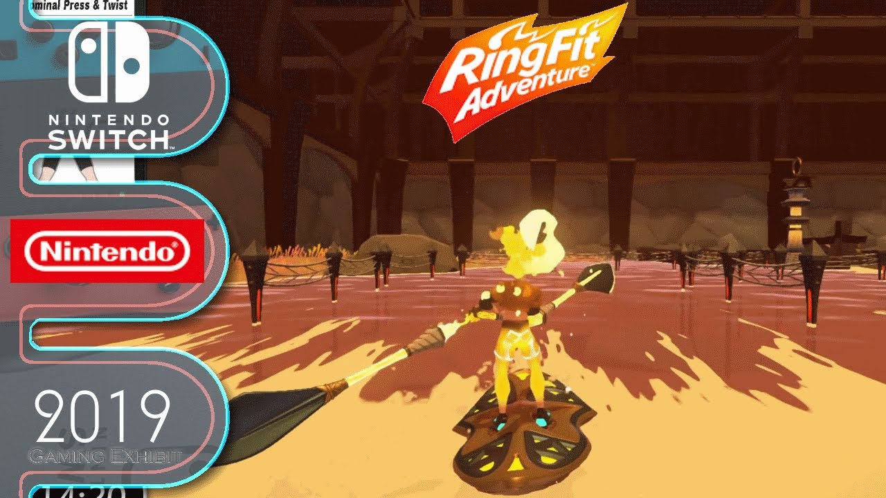 Ring Fit Adventure - Nintendo Switch - Day 36