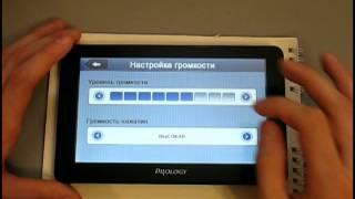 Видеообзор GPS навигатора Prology iMAP-730TI