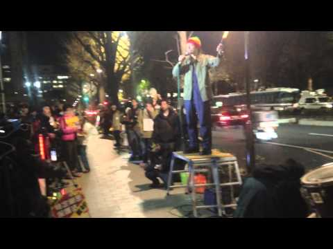 Protest Against Fascist State Secret Law In Japan | Dec. 13th 2013