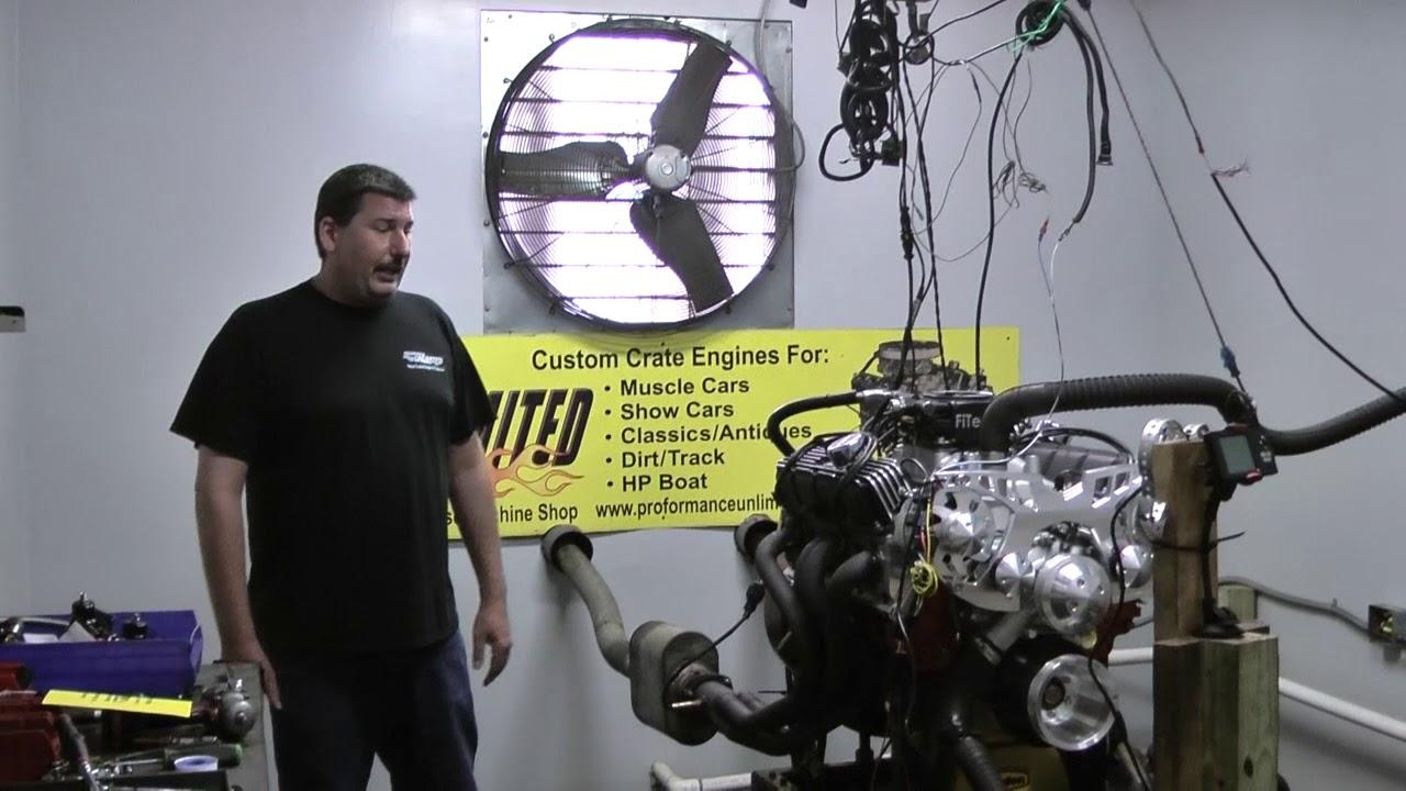 Mopar 360 408CI Stroker Crate Engine By Proformance Unlimited