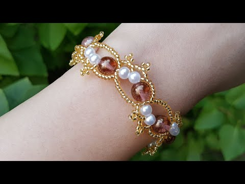 Beaded Bracelet/Bracelet/Easy Bracelet/Как сделать браслет/Браслет из бусин и бисера