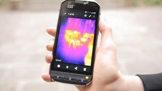 El teléfono CAT S60 te da la temperatura de cualquier superficie