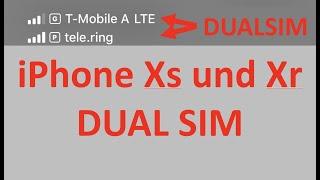 iPhone Xs Xr Dual SIM so funktioniert es