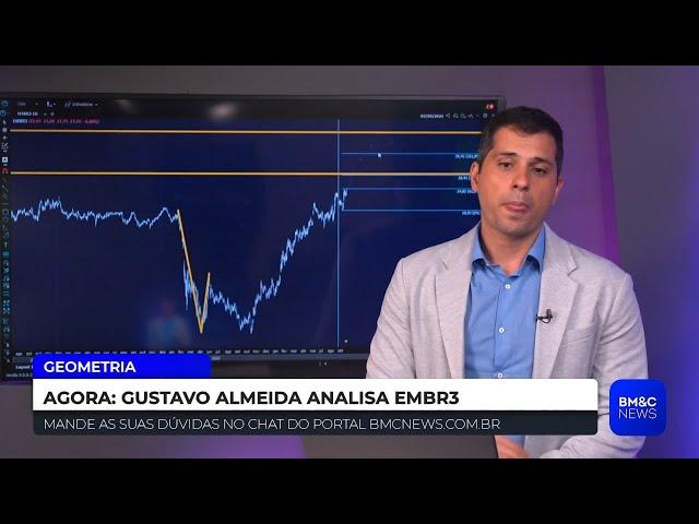 #EMBR3: Guga Almeida analisa Embraer