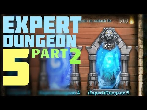 Castle Clash: Expert Dungeon 5 - Level 4 5 6 7