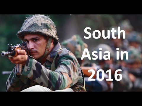 South Asia in the year 2016 (BBC Hindi)
