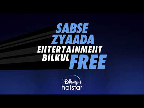 Free Entertainment on Hotstar