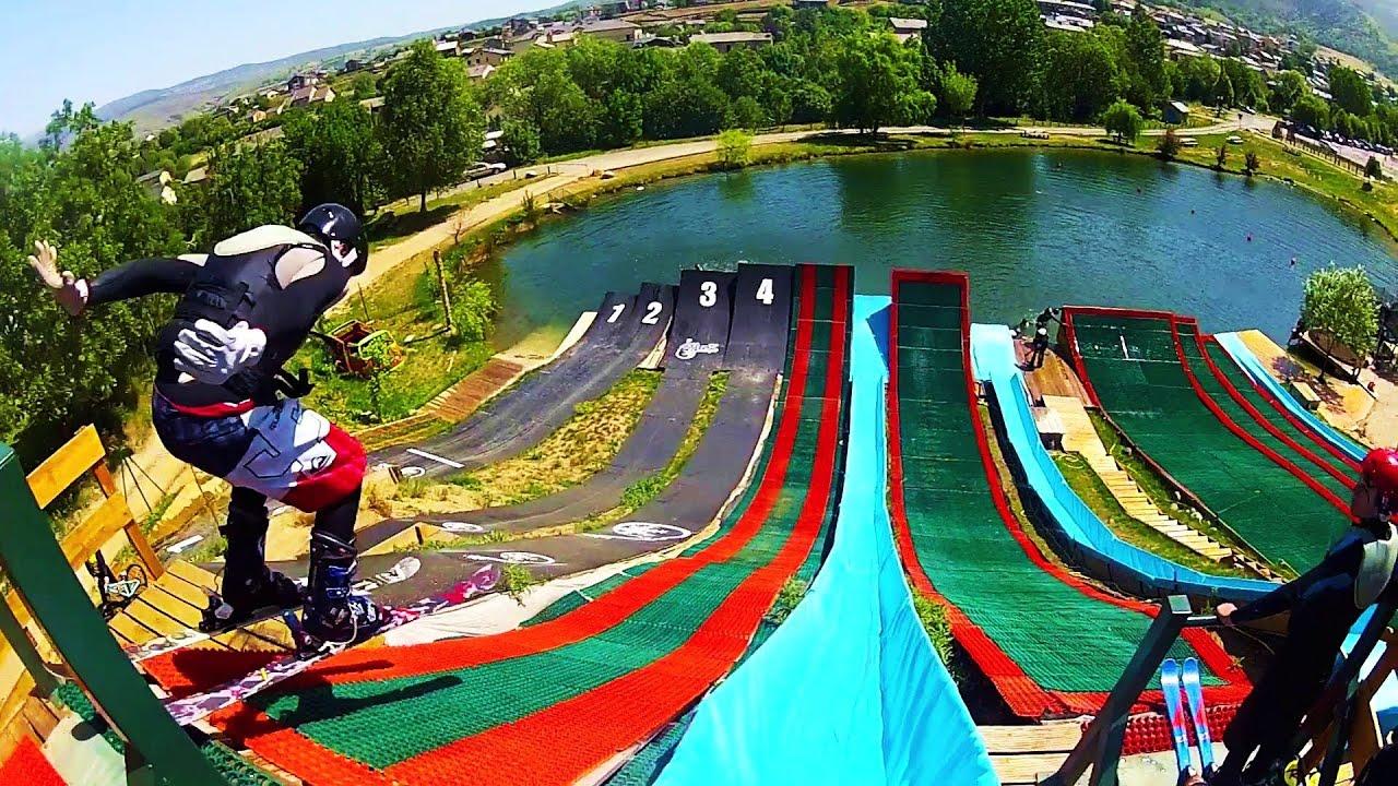 Gopro water jump france youtube for Accouchement en piscine en france