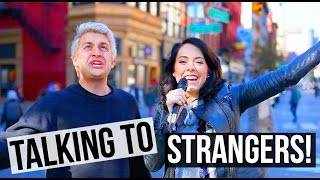 HOW TO SURVIVE THE HOLIDAYS! Talking To Strangers On The Street w/ Chris Klemens