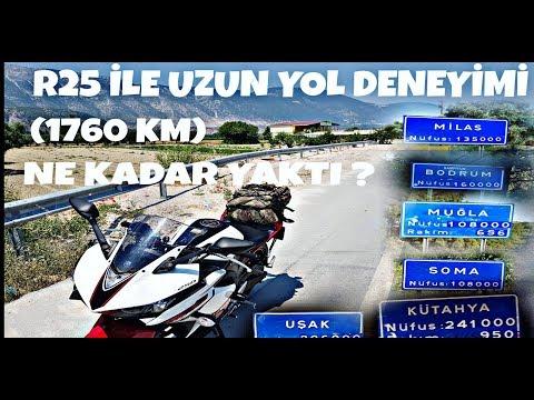 R25 İle Uzun Yol (1760 Km) & Ne Kadar Yaktı & Cumartesi Efsane Video Geliyor..